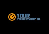 LOGO YOUR POWERSHOP ZWART (Custom)